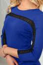 Повседневное платье футляр электрика цвета 2477.47 No4 интернет-магазин vvlen.com