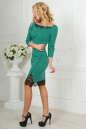 Повседневное платье футляр зеленого цвета No2|интернет-магазин vvlen.com