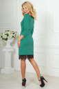Повседневное платье футляр зеленого цвета No3|интернет-магазин vvlen.com