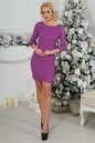Коктейльное платье футляр фрезового цвета 2218.12 No1|интернет-магазин vvlen.com