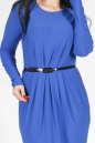 Повседневное платье с юбкой тюльпан электрика цвета 1691.14 No1|интернет-магазин vvlen.com