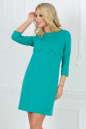 Повседневное платье футляр мятного цвета 2488.47 No1|интернет-магазин vvlen.com