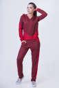 Домашний костюм красного цвета 2385.87|интернет-магазин vvlen.com