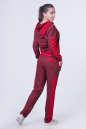 Домашний костюм красного цвета 2385.87 No2 интернет-магазин vvlen.com