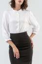 Блуза белого цвета No0|интернет-магазин vvlen.com
