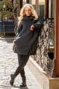 Кардиган оверсайз темно-серого цвета|интернет-магазин vvlen.com