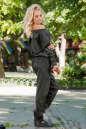 Женский комбинезон брючный темно-зеленого цвета 2389.1 No2|интернет-магазин vvlen.com