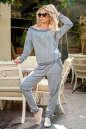 Женский комбинезон брючный серого цвета 2389 .1 No0|интернет-магазин vvlen.com