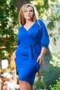 Платье футляр электрика цвета 2388.67 No0|интернет-магазин vvlen.com