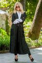 Кардиган с поясом черного цвета No3|интернет-магазин vvlen.com