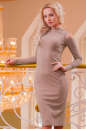 Повседневное платье футляр розового цвета|интернет-магазин vvlen.com