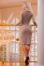 Повседневное платье футляр розового цвета 2431.31 No3|интернет-магазин vvlen.com