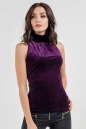 Блуза фиолетового цвета No0|интернет-магазин vvlen.com