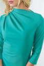 Офисное платье футляр мятного цвета No4|интернет-магазин vvlen.com