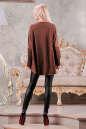 Туника оверсайз коричневого цвета 2450.86 No6 интернет-магазин vvlen.com