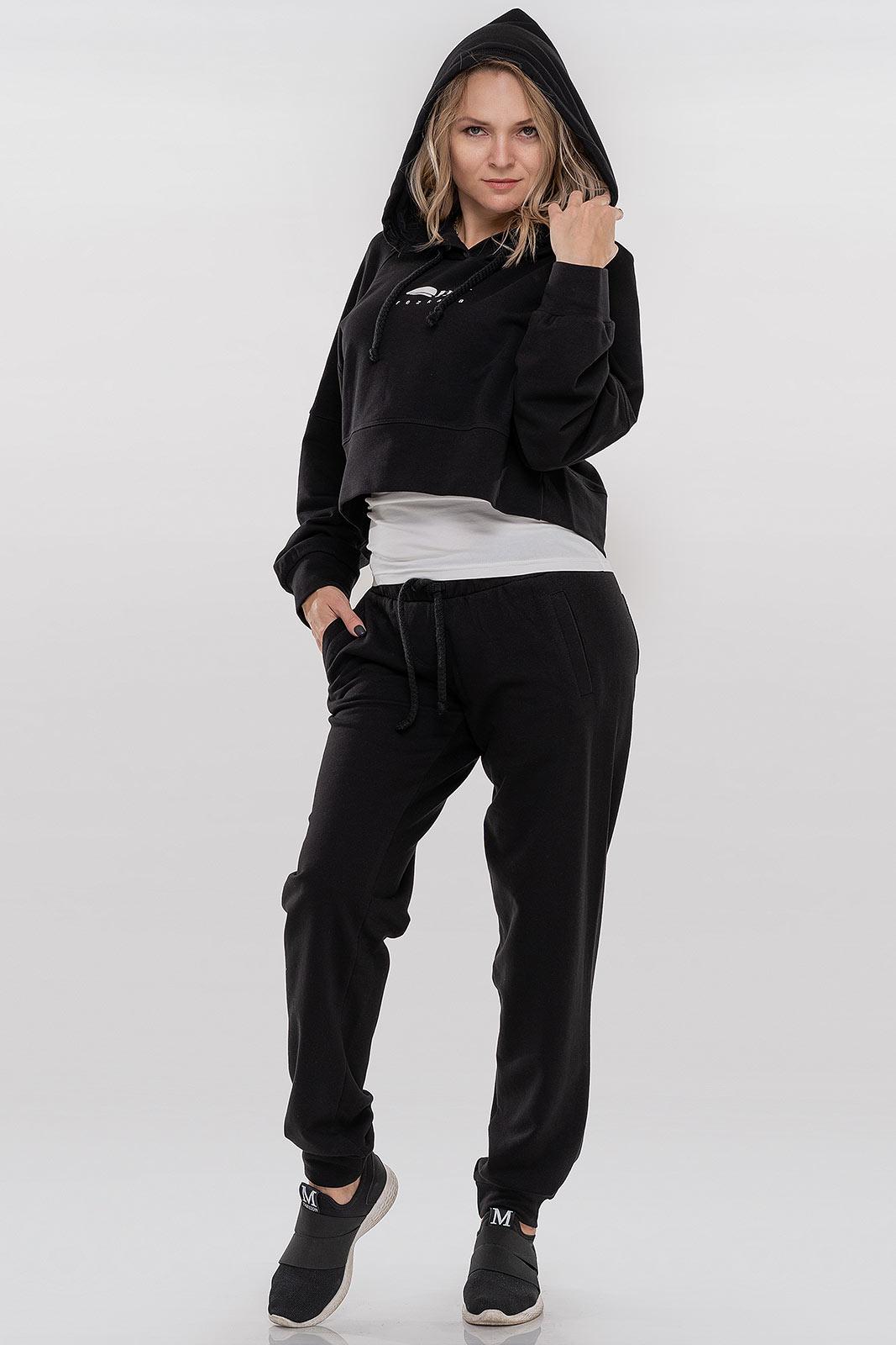 Спортивный костюм черного цвета V&V  VVLEN