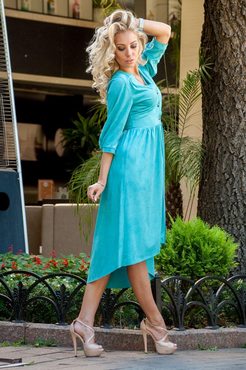 Бирюзовое Платье 2021